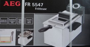 AEG FR 5547 Kaltzonen-Friteuse Test