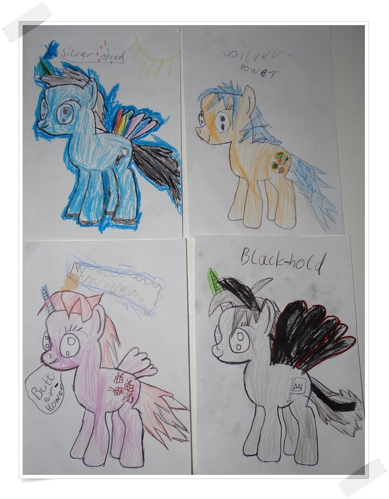 my little pony bilder malen mit kindern. Black Bedroom Furniture Sets. Home Design Ideas