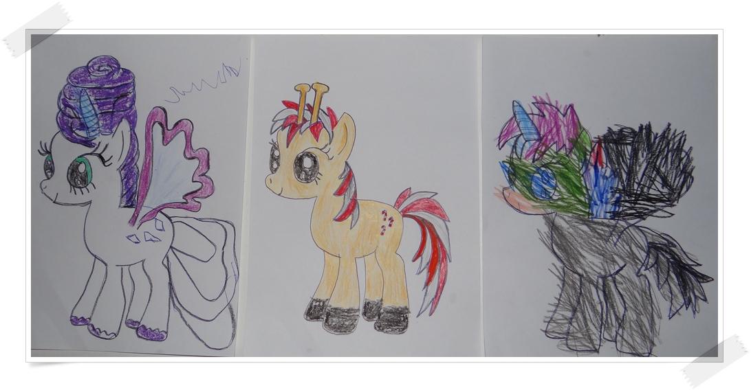 my little pony bilder malen mit kindern. Black Bedroom Furniture Sets. Home Design Ideas
