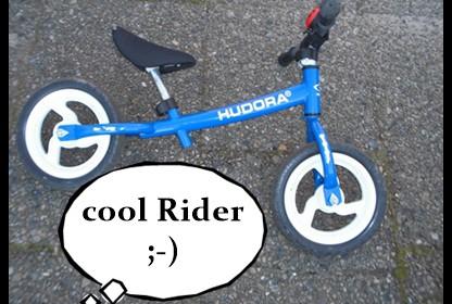 Hudora Laufrad für Kinder 12 Zoll